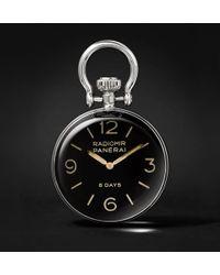 Officine Panerai | Stainless Steel Table Clock | Lyst