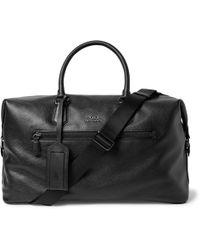 Polo Ralph Lauren - Pebble-grain Leather Holdall - Lyst
