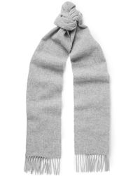 Norse Projects - Johnstons Fringed Wool Scarf - Lyst