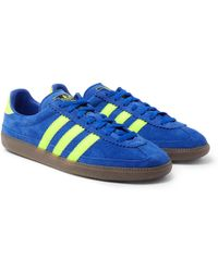 b1d319d66e01 adidas Originals - Spezial Whalley Leather-trimmed Suede Trainers - Lyst