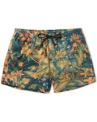 Dries Van Noten - Short-length Floral-print Swim Shorts - Lyst