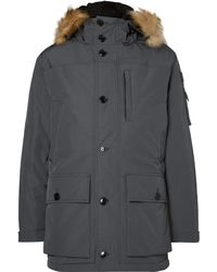 J.Crew | Nordic Faux Fur-trimmed Shell Down Parka | Lyst