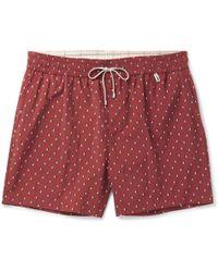 Loro Piana - Slim-fit Mid-length Printed Swim Shorts - Lyst