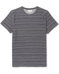 Envelope Striped Cotton-jersey T-shirt Oliver Spencer Sale Supply tsdl77