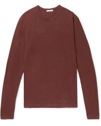 James Perse - Cotton-jersey T-shirt - Lyst