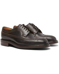 Cheaney - Addison Leather Wingtip Brogues - Lyst