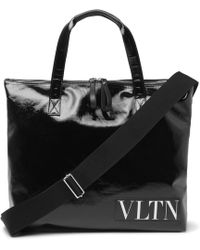 Valentino - Vltn Shopping Bag With Shoulder - Lyst