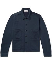 Alex Mill - Loopback Cotton-jersey Chore Jacket - Lyst