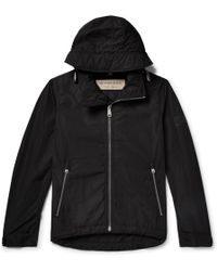 Burberry - Shell Hooded Jacket - Lyst