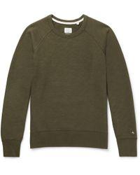 Rag & Bone - Standard Issue Loopback Cotton-jersey Sweatshirt - Lyst