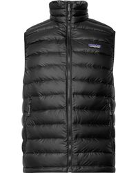 Patagonia   Quilted Dwr-coated Ripstop Down Gilet   Lyst