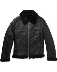Shearling Dunhill Jacket Lyst Dunhill Dunhill Lyst Jacket Shearling pEwEXF