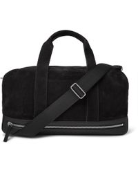 Berluti | Leather-trimmed Suede Holdall | Lyst