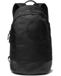 Dunhill - Radial Leather-trimmed Shell Backpack - Lyst