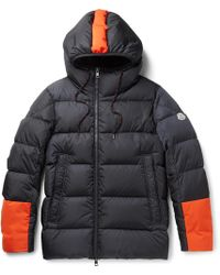 Moncler | Drake Quilted Shell Hooded Down Jacket | Lyst