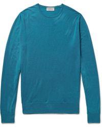 John Smedley - Lundy Virgin Wool Sweater - Lyst