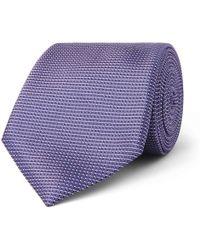 8cm Silk-jacquard Tie Canali aBliVw