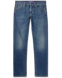 Ralph Lauren Purple Label - Amberley Slim-fit Denim Jeans - Lyst
