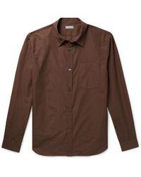 Margaret Howell - Cotton-poplin Shirt - Lyst