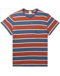 Levi's - Striped Cotton-jersey T-shirt - Lyst
