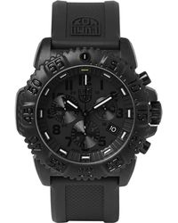Luminox - Navy Seal Colormark 3081.bo Series Carbon-reinforced And Rubber Chronograph Watch - Lyst