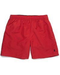 Polo Ralph Lauren - Traveler Mid-length Swim Shorts - Lyst