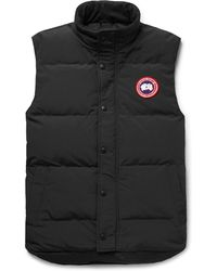 Canada Goose - Garson Slim-fit Quilted Shell Down Gilet - Lyst