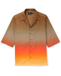 JOSEPH - Camp-collar Dégradé Cotton-poplin Shirt - Lyst