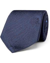 Berluti - 8cm Scritto Silk-jacquard Tie - Lyst