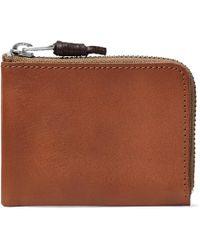 J.Crew - Leather Zip-around Wallet - Lyst