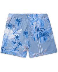 Tod's - Short-length Printed Swim Shorts - Lyst