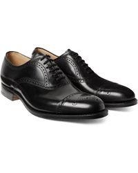 Church's - Toronto Cap-toe Leather Oxford Brogues - Lyst