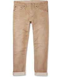 Fabric-Brand & Co. - Xeno Slim-fit Selvedge Denim Jeans - Lyst