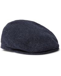 891d9e152ca5a Lyst - Musto Shooting Checked Wool-blend Tweed Flat Cap in Brown for Men