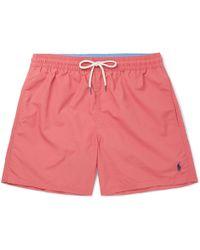 Polo Ralph Lauren - Traveller Mid-length Swim Shorts - Lyst
