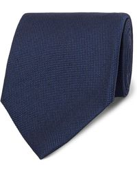 Tom Ford - 8cm Silk And Linen-blend Tie - Lyst