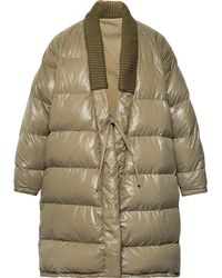 Visvim - Yukata Oversized Wool-trimmed Quilted Nylon Down Coat - Lyst