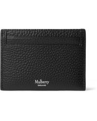 Mulberry - Full-grain Leather Cardholder - Lyst