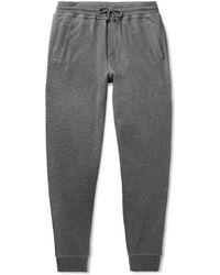 Brunello Cucinelli - Cotton-blend Jersey Joggers - Lyst