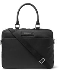 Want Les Essentiels De La Vie - - Haneda Leather Trimmed Nylon Briefcase - Mens - Black - Lyst