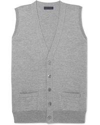 Thom Sweeney - Slim-fit Wool Vest - Lyst