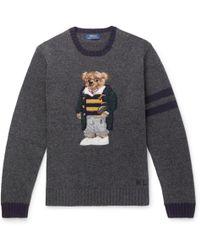 Polo Ralph Lauren - Polo Bear Wool Jumper - Lyst