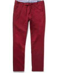 Polo Ralph Lauren - Slim-fit Stretch-cotton Twill Chinos - Lyst