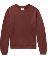 Fanmail - Loopback Organic Cotton-jersey Sweatshirt - Lyst