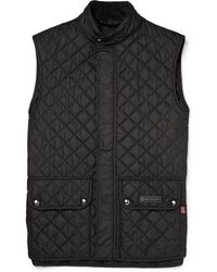 Belstaff - Slim-fit Quilted Shell Gilet - Lyst