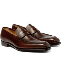 To BootJames Leather Penny Loafers wF3GFCN3Yf
