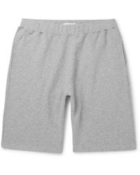 Sunspel - Brushed Loopback Cotton-jersey Shorts - Lyst