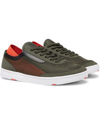 Orlebar Brown - Larson Panelled Mesh Trainers - Lyst