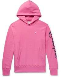 Todd Snyder - Logo-print Loopback Cotton Jersey Hoodie - Lyst