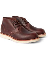 Red Wing - Work Leather Chukka Boots - Lyst